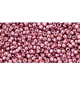Toho pf553B 15  Round 20g  Pink Metallic Perma Finish