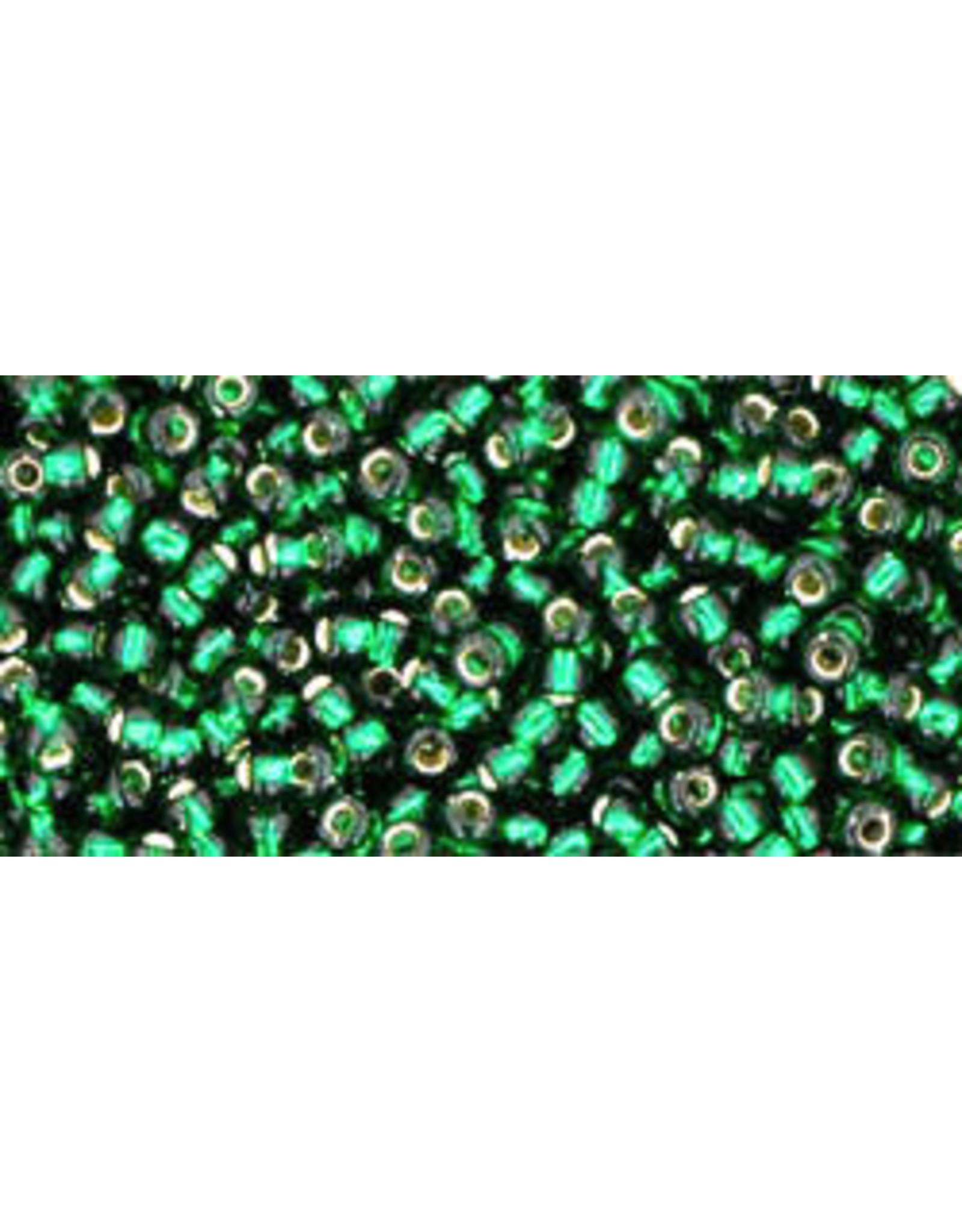 Toho 36B 11  Round 40g Emerald Green s/l