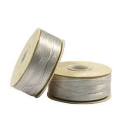 Nymo D'     Sterling Grey Small Bobbin 59m