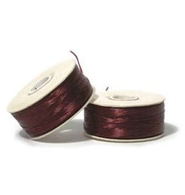 Nymo D'    Burgundy Red Small Bobbin 59m
