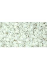Toho 401B 11  Hex 40g Opaque White AB