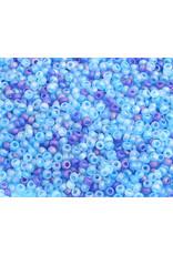 Czech 2029 10  Seed 20g Transparent  Blue Matte Mix