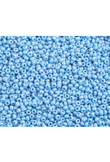 Czech 2313 10  Seed 20g  Opaque Light Blue AB