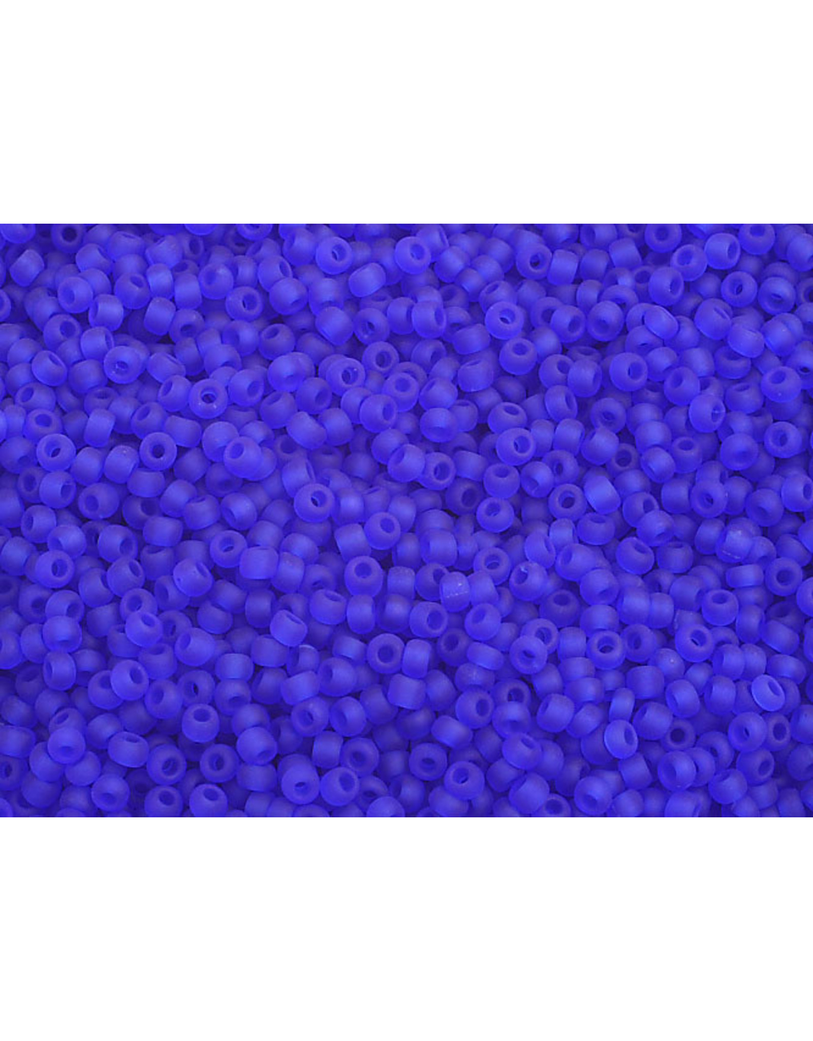 Czech 2324 10  Seed 20g  Transparent Dark Blue Matte