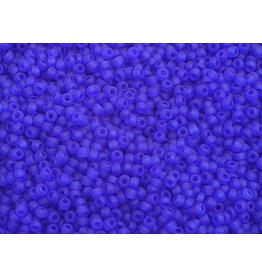 Czech 2324 10  Seed 20g  Transparent Dark Blue Matte