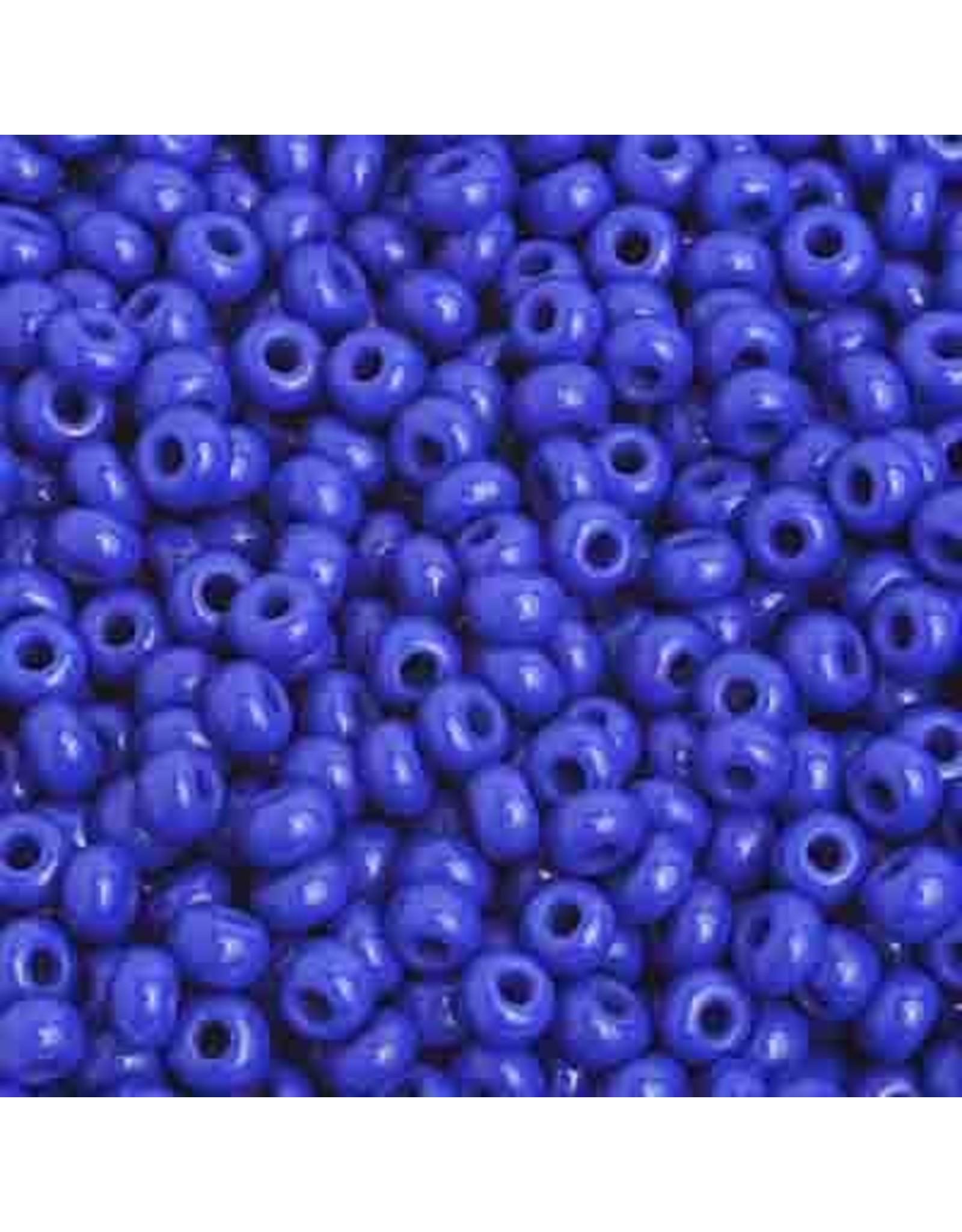 Czech 201583  8  Seed 20g Opaque Medium Blue