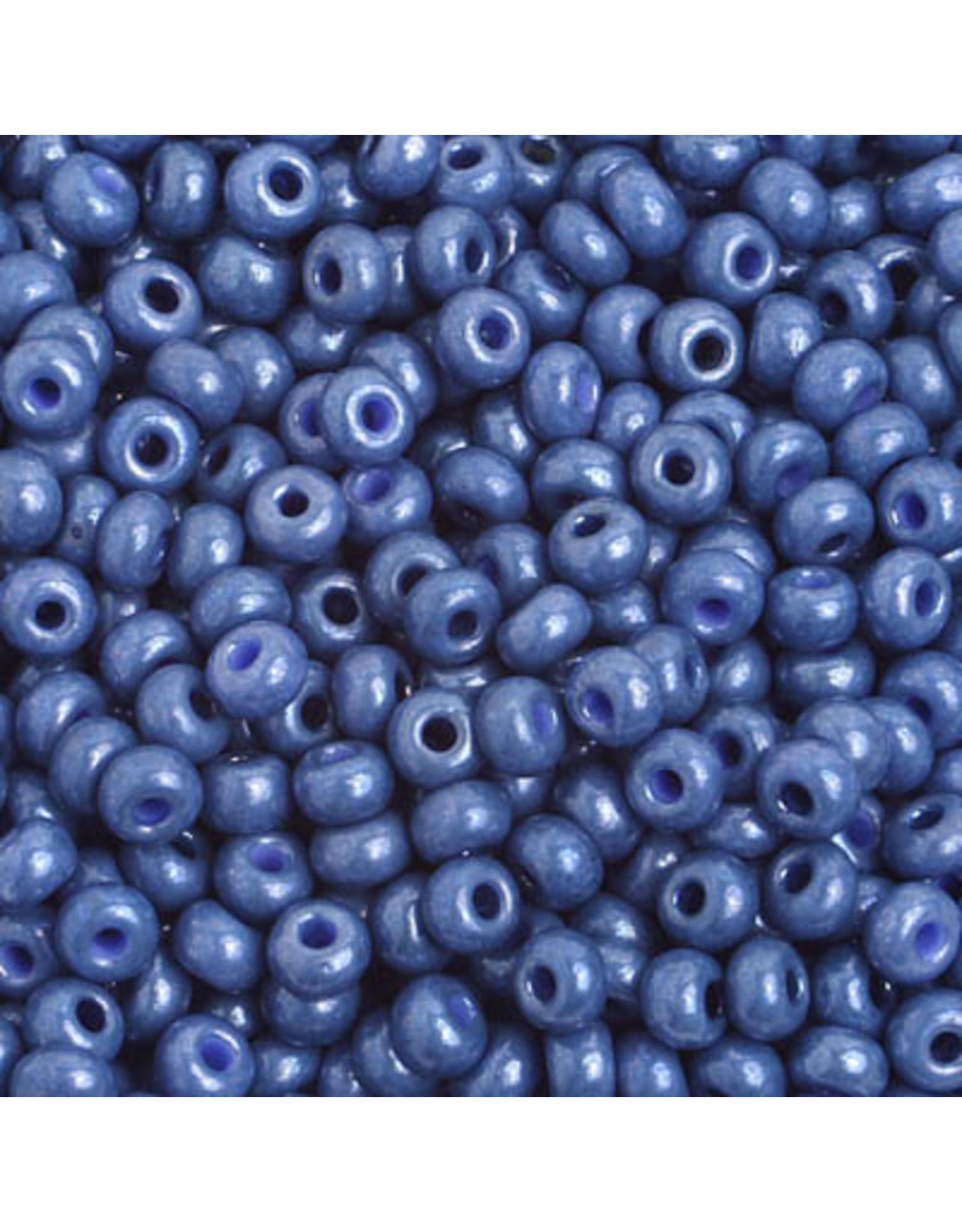 Czech *401911 6  Seed 10g  Opaque Light Blue Lustre