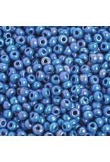 Czech 401014 6 Seed 20g  Opaque Dark Blue AB