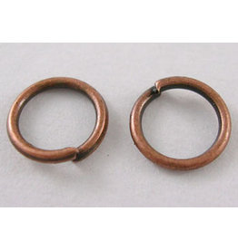 Jump Ring 5mm Antique Copper  approx 22g  x100 NF