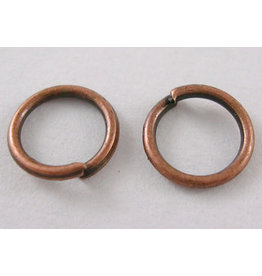 Jump Ring 10mm Antique Copper  approx 18g  x100 NF