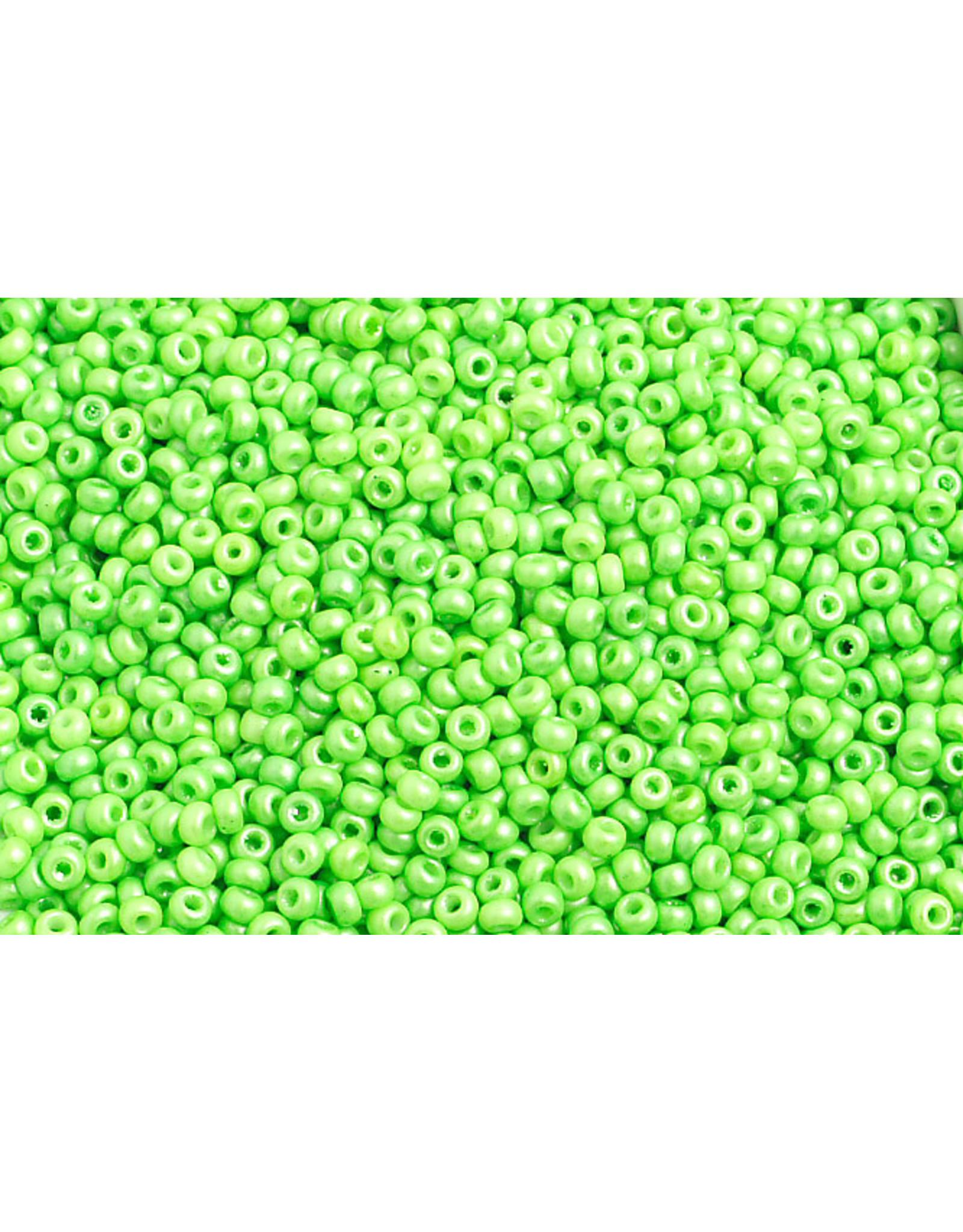 Czech 2333B 10  Seed 250g Opaque Shiny Green