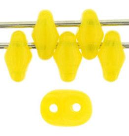 Czech SuperDuo 6g  Milky Yellow