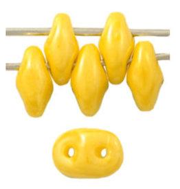Czech SuperDuo 6g  Opaque Yellow Lustre