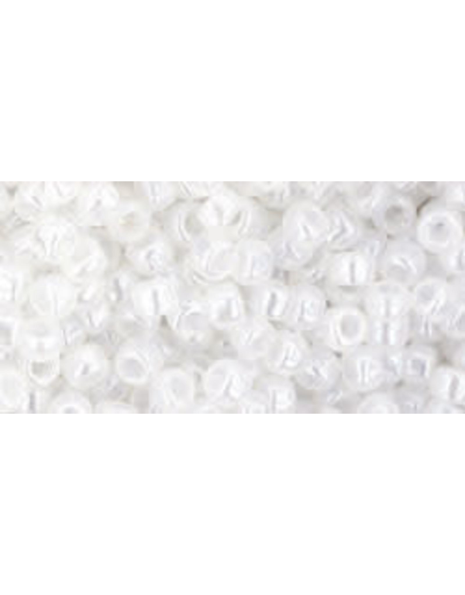 Toho 141  8  Round 6g Ceylon Snowflake White