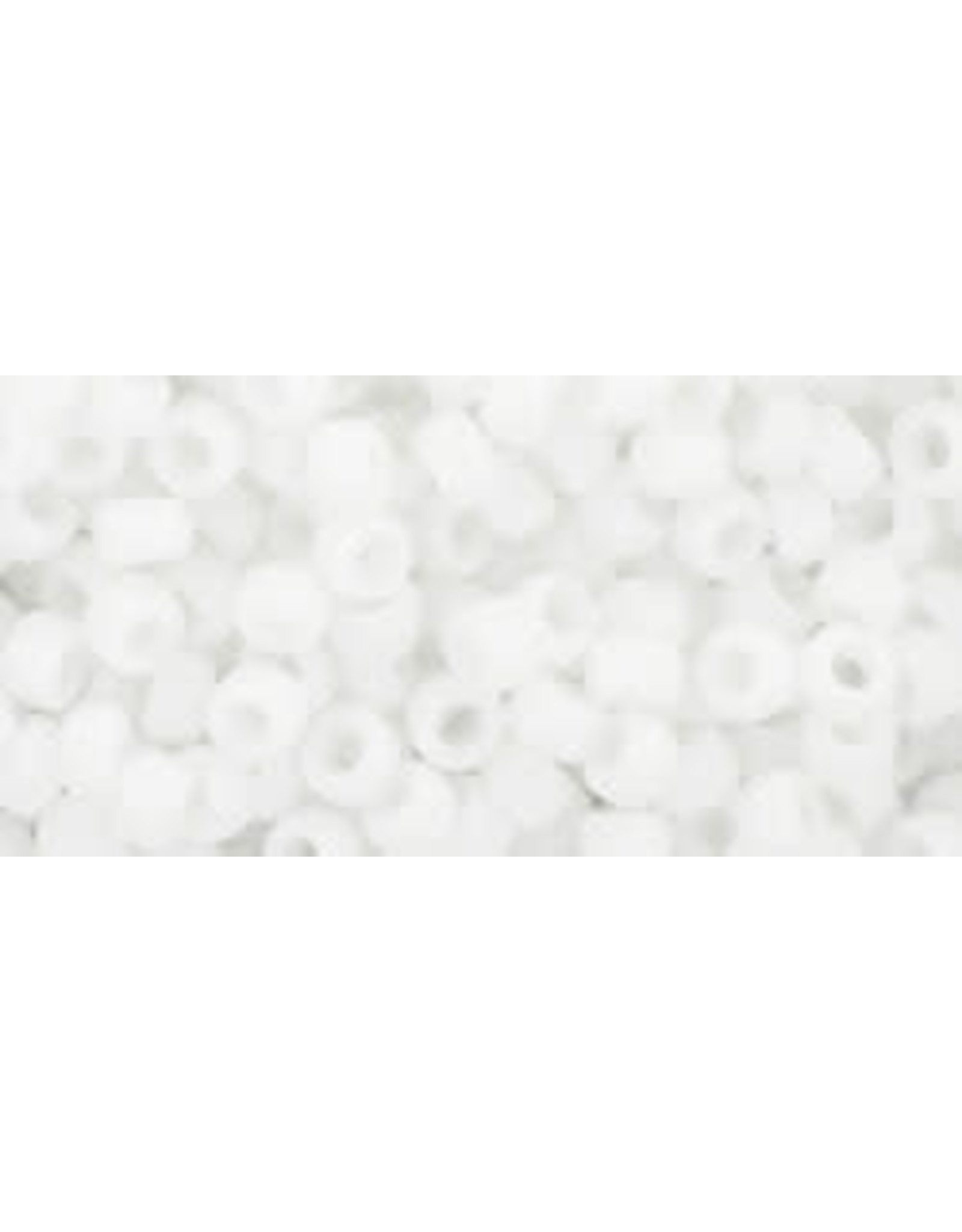 Toho 41f 8  Round 6g Opaque White Matte