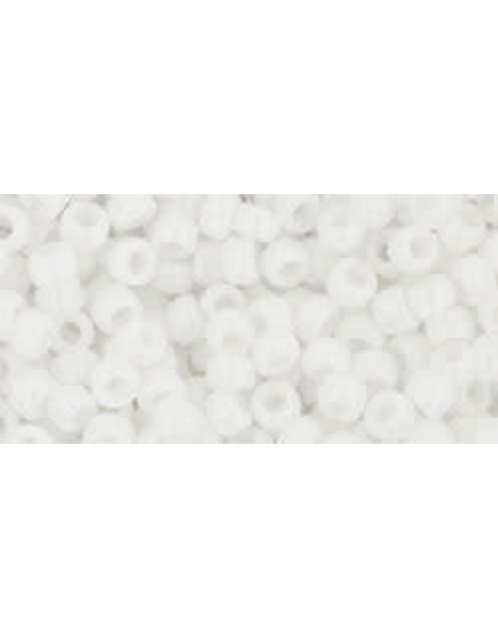Toho 41 8  Round 6g Opaque White