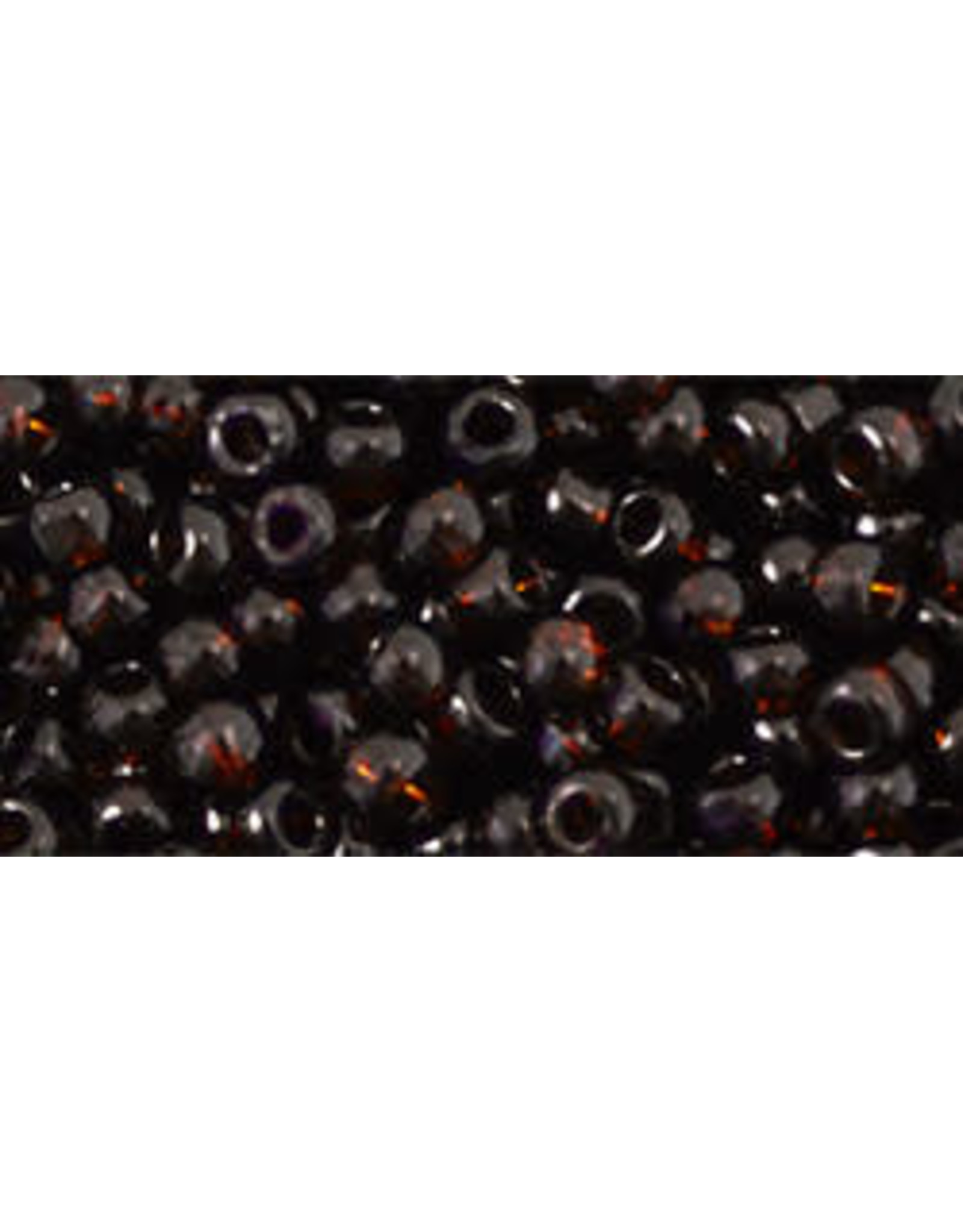 Toho 14  8  Round 6g   Transparent Dark Brown Rootbeer