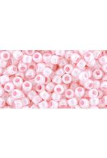 Toho 126  8  Round 6g  Opaque Pink Lustre
