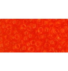 Toho 10b 8  Round 6g Transparent  Orange