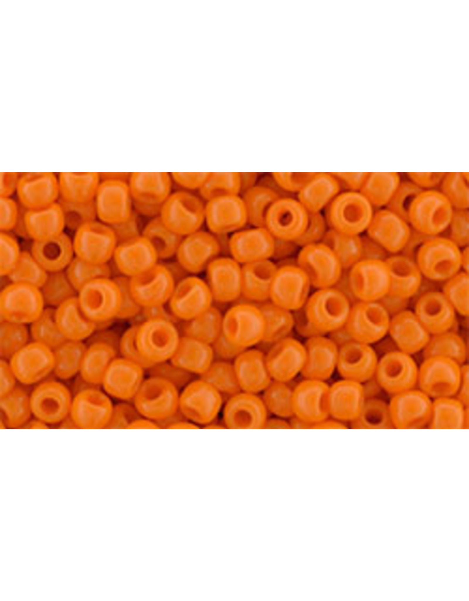 Toho 42d  8  Round 6g  Opaque  Orange