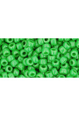Toho 47  8  Round 6g  Opaque  Green