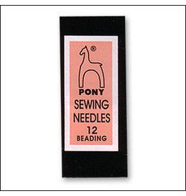 Beading Needle Size 12 Pony Brand  x25