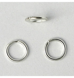 Jump Ring 5mm Silver approx 21g  x100 NF
