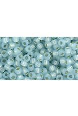Toho 2116 8  Round 6g Milky Aqua Blue s/l