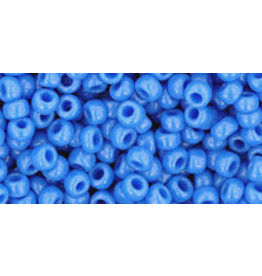 Toho 43d 8  Round 6g  Opaque Cornflower Blue