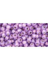 Toho 2108 8  Round 6g  Milky Purple s/l