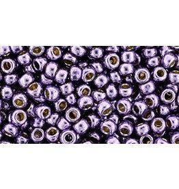 Toho pf579  8  Round 6g  Pale Lilac Purple Metallic