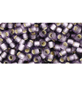 Toho 39f 8  Round 6g  Tanzanite Purple s/l Matte