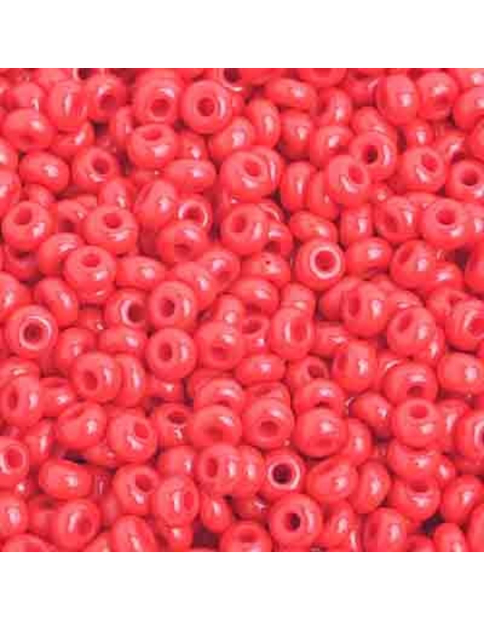 Czech 201580  8  Seed 20g Opaque Light Red