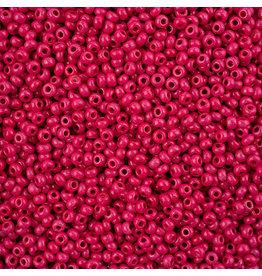 Czech *243113  8 Seed 10g Opaque Pink Rose Terra Intensive