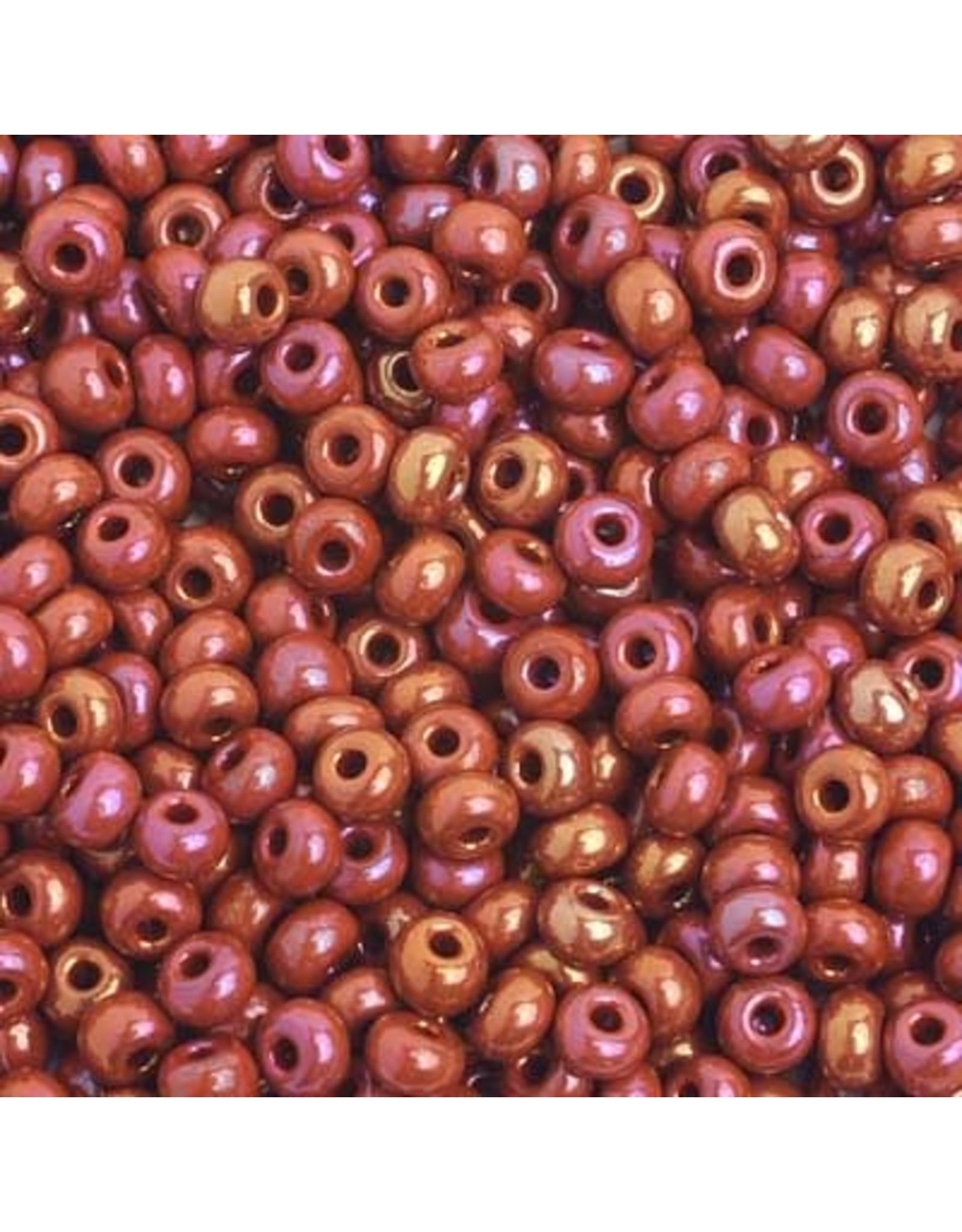 Czech 401714 6  Seed 20g  Opaque Brown AB