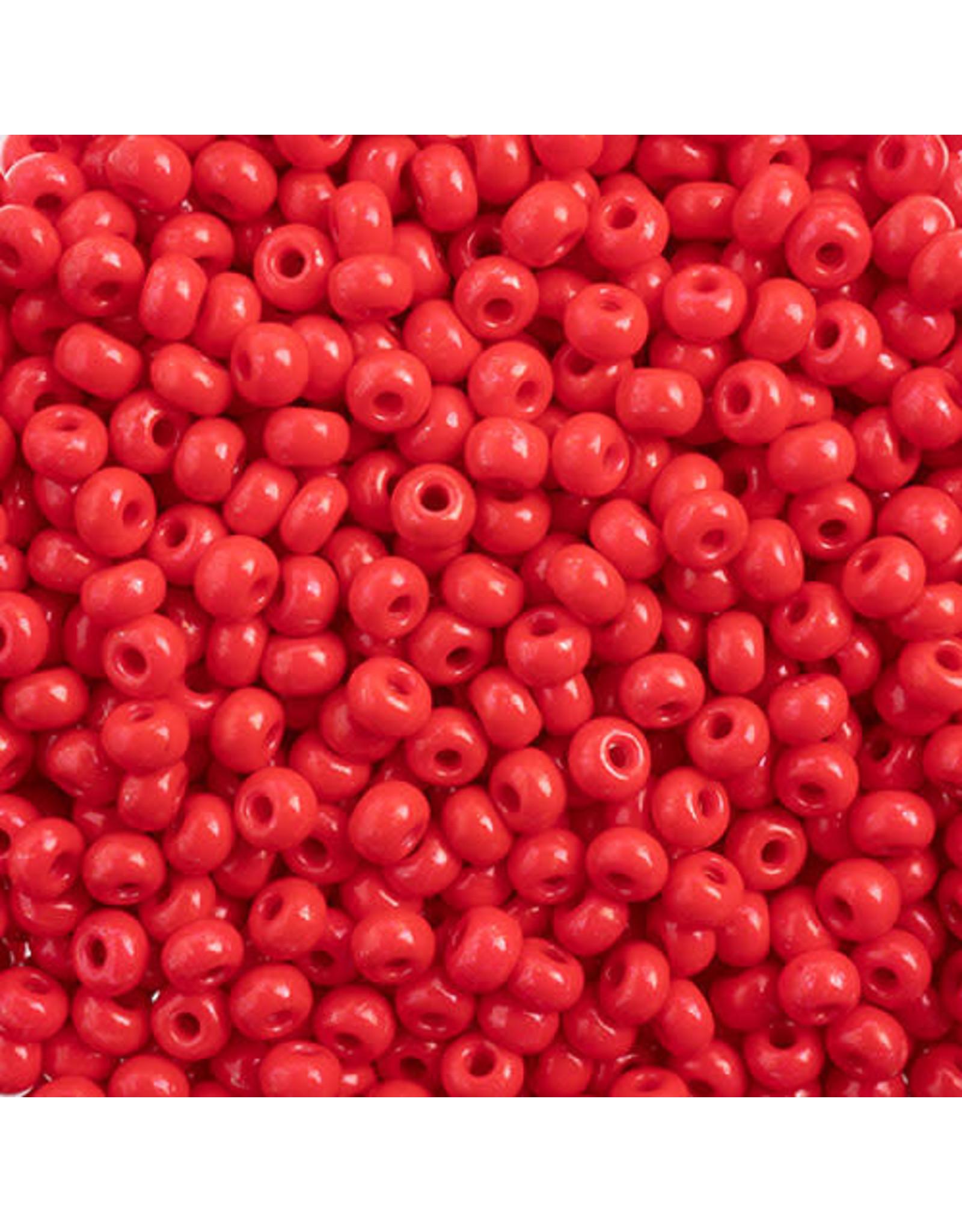 Czech *443227  6  Seed 10g Opaque Red Terra Intensive