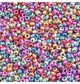 Czech 0093B 10 Czech Seed 125g Multi Metallic