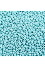 Czech 2314B 10  Seed 250g  Opaque Turquoise  Blue AB