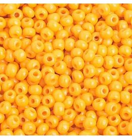 Czech 201002B  8  Seed 250g Opaque Light Orange