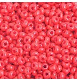 Czech 201580B  8  Seed 250g Opaque Light Red
