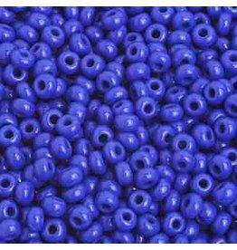 Czech 201583B  8  Seed 250g Opaque Medium Blue