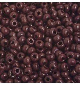 Czech 201585B  8  Seed 250g  Opaque Dark Brown