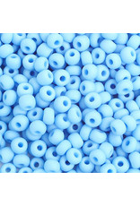 Czech 401002B  6 Seed 250g   Opaque Light Blue Matte