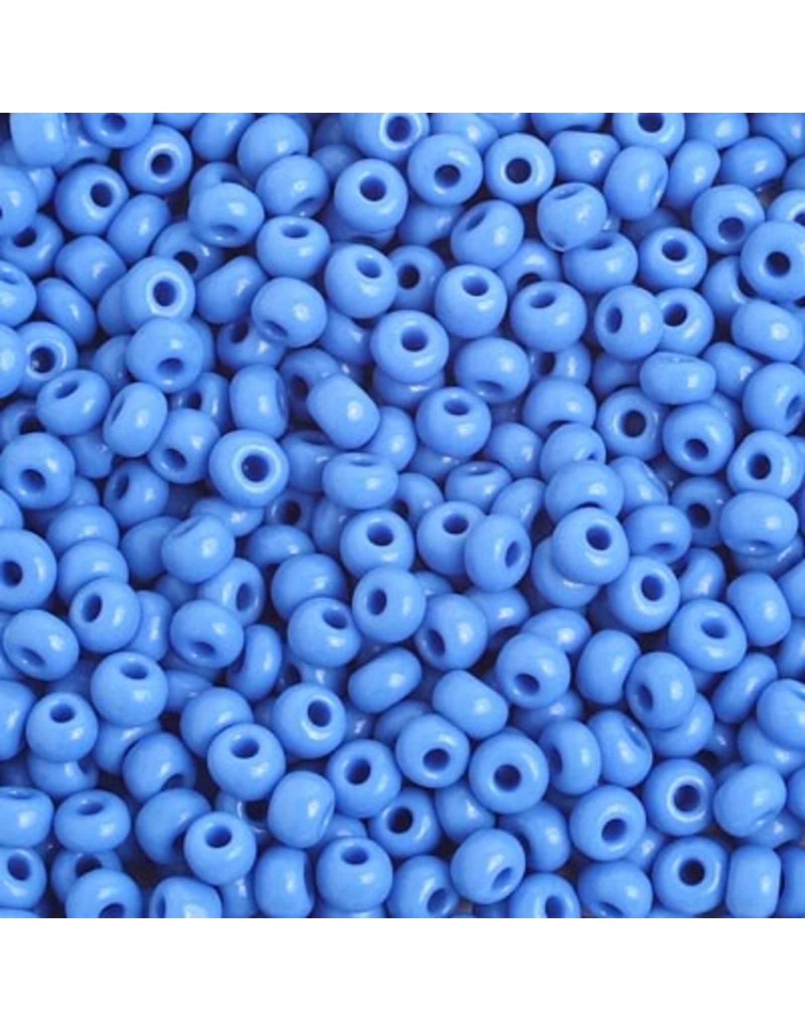 Czech 401623B 6  Seed 250g  Opaque Medium Blue