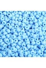 Czech 401625B 6  Seed 250g  Opaque Light Blue