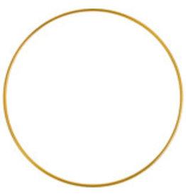"""Metal Ring  3""""  Brass  x5"""