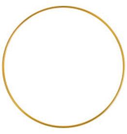 """Metal  Ring  4""""  Brass  x5"""