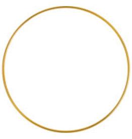 """Metal Ring  5""""  Brass  x5"""