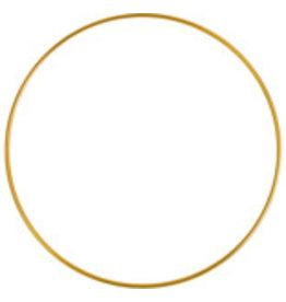 """*Metal Ring  6""""  Brass  x1"""