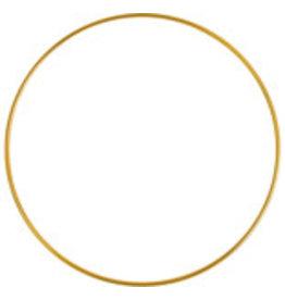 """*Metal Ring  9""""  Brass  x1"""
